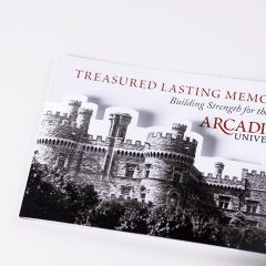 Arcadia University Planned Giving Mailer