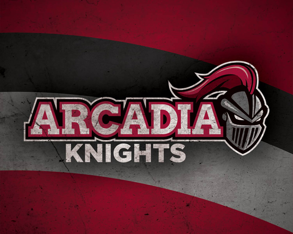arcadia university athletics logo  u2013 dan brumbach
