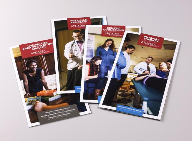 Arcadia Graduate Brochures